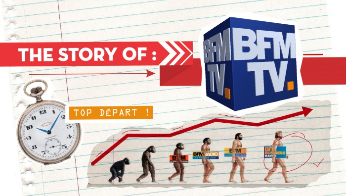 LA STORY BFM-TV EN MOTION DESIGN