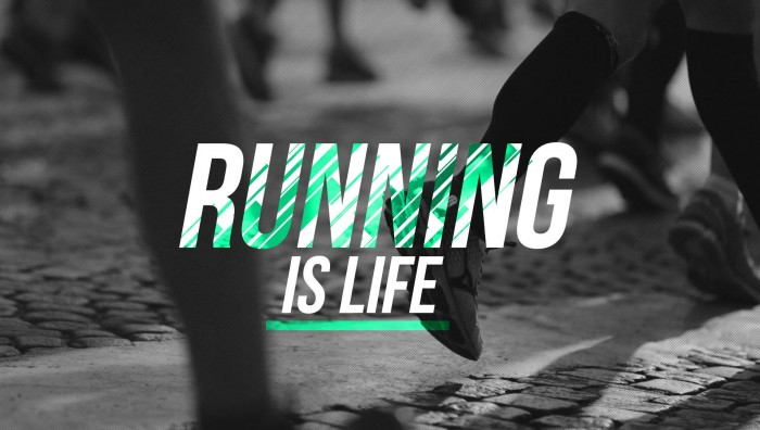 RUNNING IS LIFE