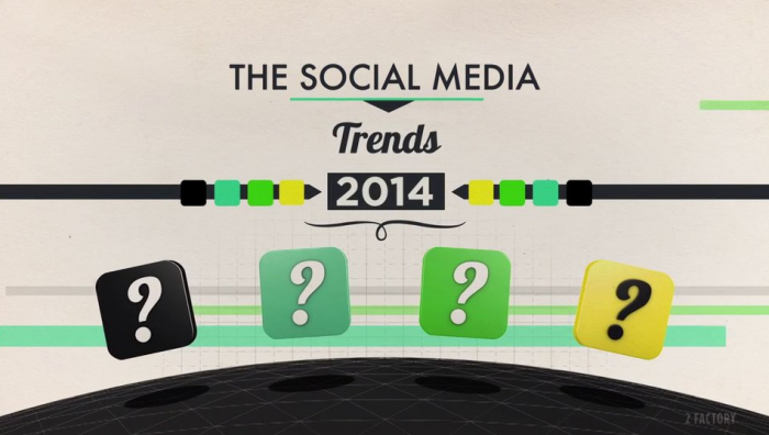 THE SOCIAL MEDIA TRENDS IN 2014